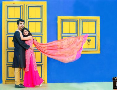 Rajasthani Haveli Prewedding Photoshoot